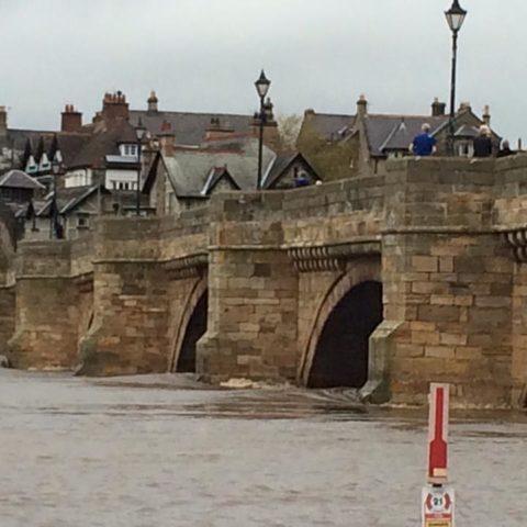 Rising River in Corbridge