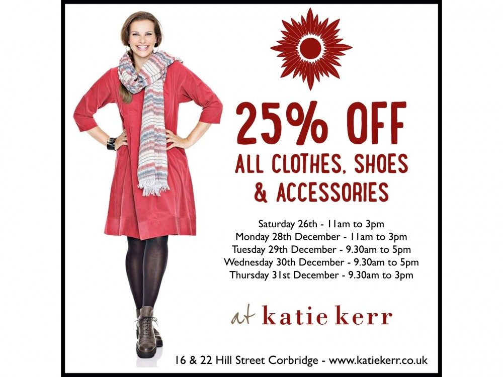 25% Off Everything at Katie Kerr