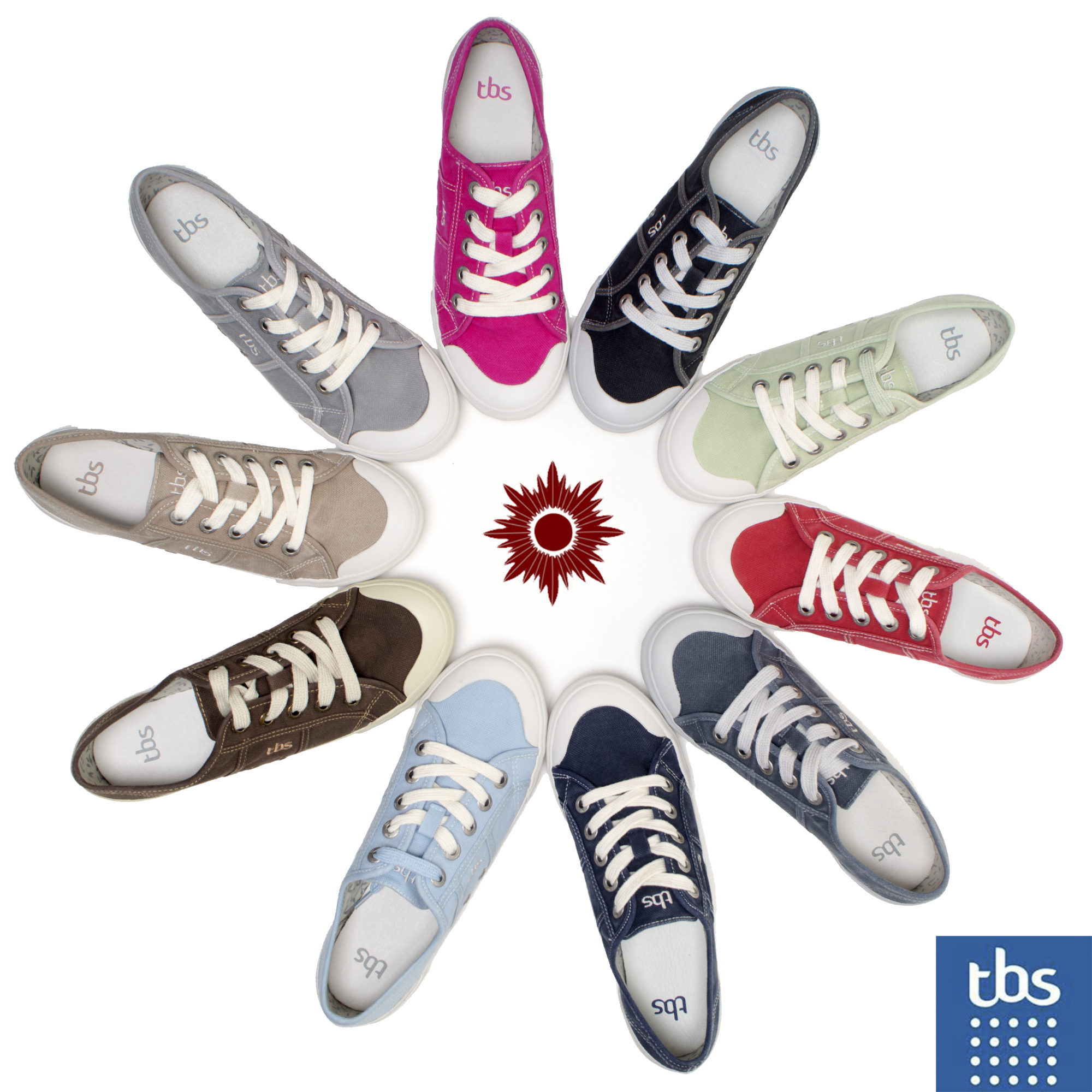 TBS Pumps 10 Colours