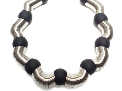 Carla_M Shaped Tube Necklace