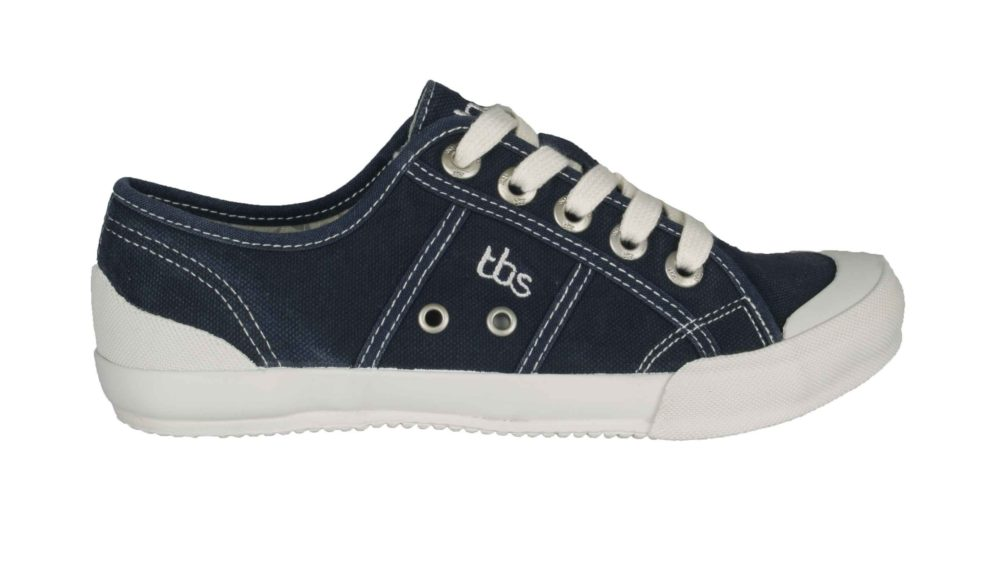 TBS Opiace Pumps Navy