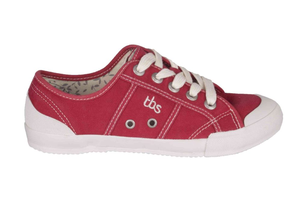 TBS Opiace Pumps Red