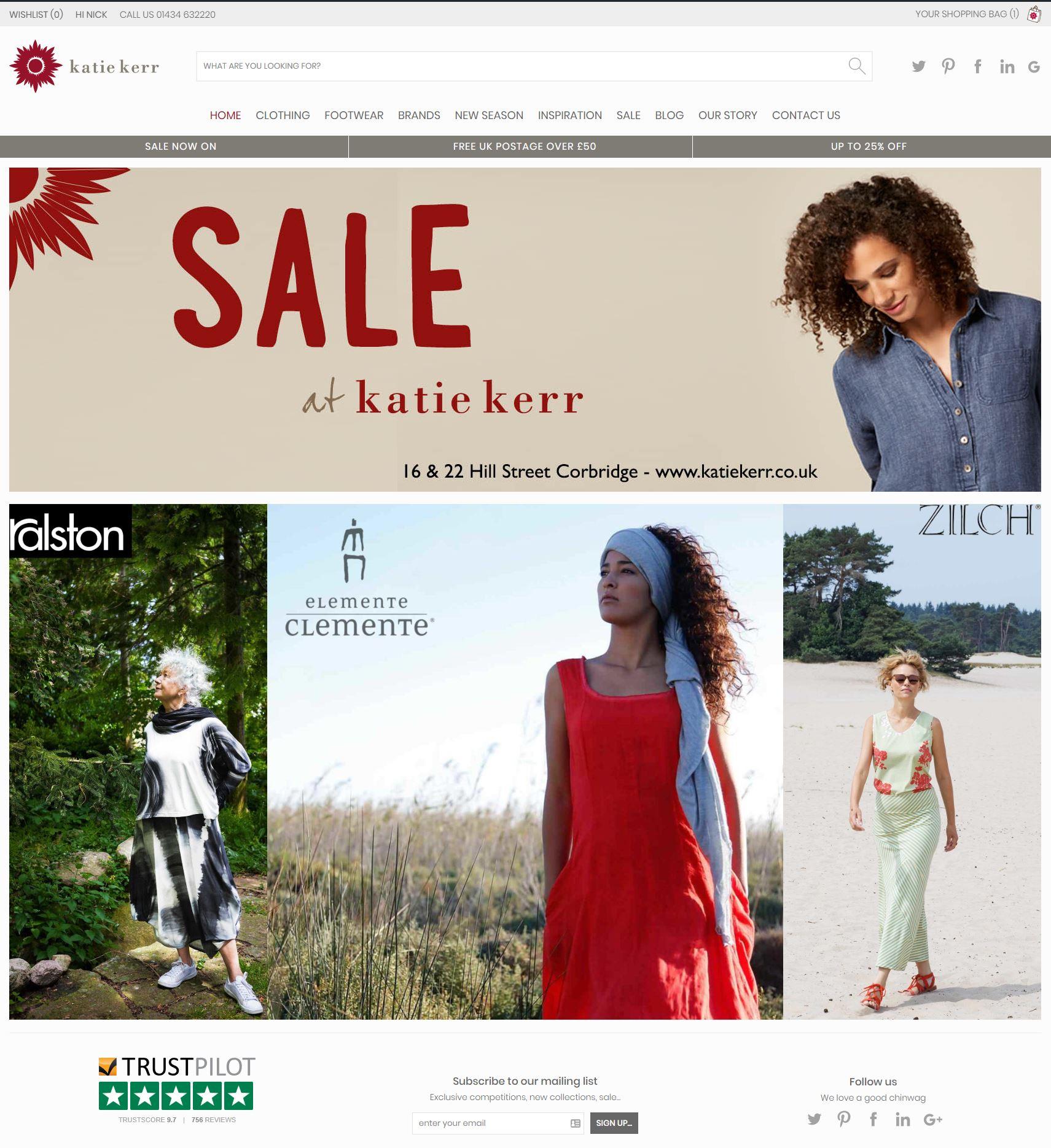 New Katie Kerr Web Site