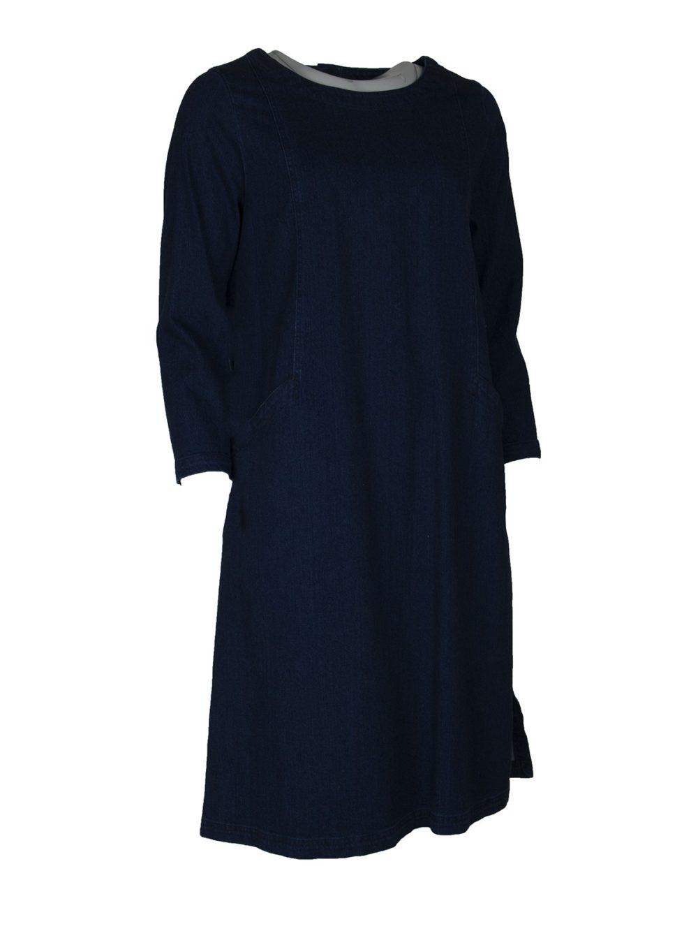 Stretch Denim Dress