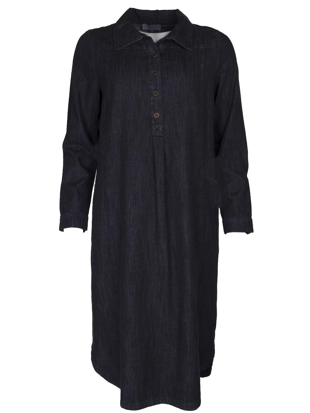 fashion style stable quality top design Soft Denim Shirt Dress