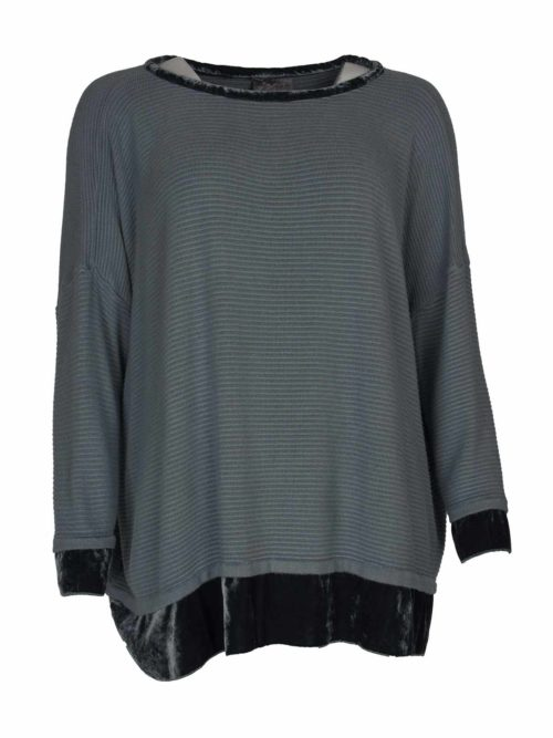 Velvet wide jumper Out of Xile Katie Kerr Women's Clothing