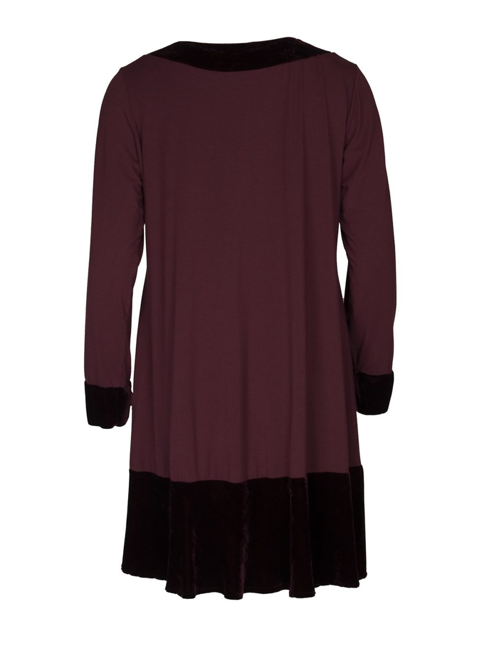 Velvet Trim Tunic 92v Out of Xile Katie Kerr Women's Clothing