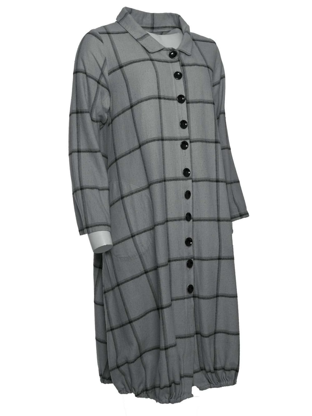 Button Coat Dress 57v Out of Xile Katie Kerr Women's Clothing