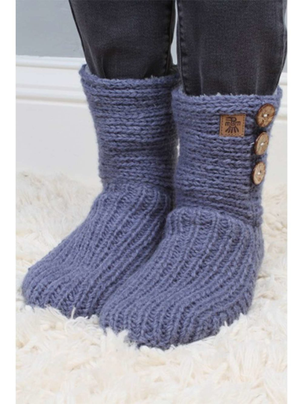 Morzine Slipper Sock Pachamama Katie Kerr Women's Clothing