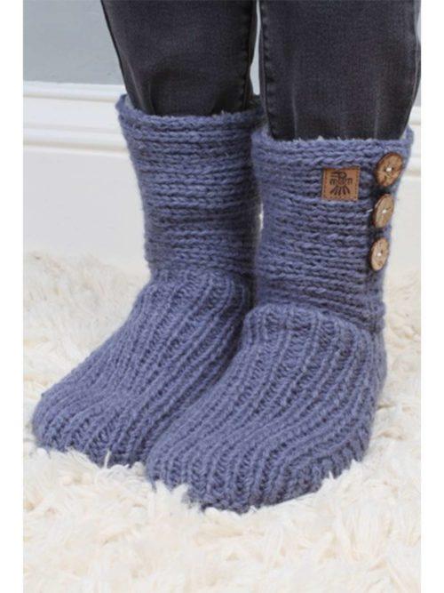 Morzine Slipper Sock Pachamama Katie Kerr Women's Clothing