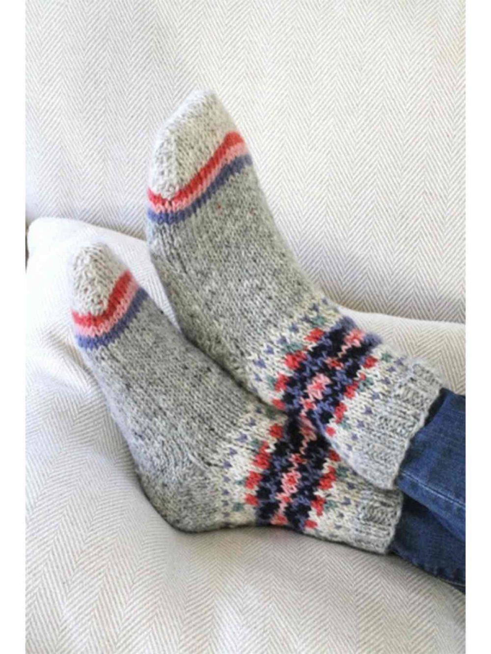 Inishmore Sofa Socks Pachamama Katie Kerr Women's Clothing