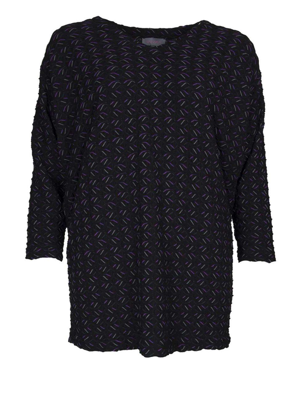 Textured Ripple Jersey Tunic