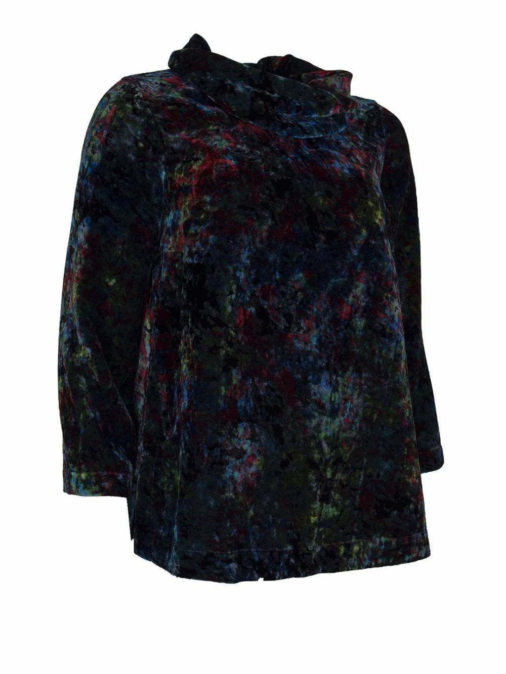 Colourburst Velvet Top