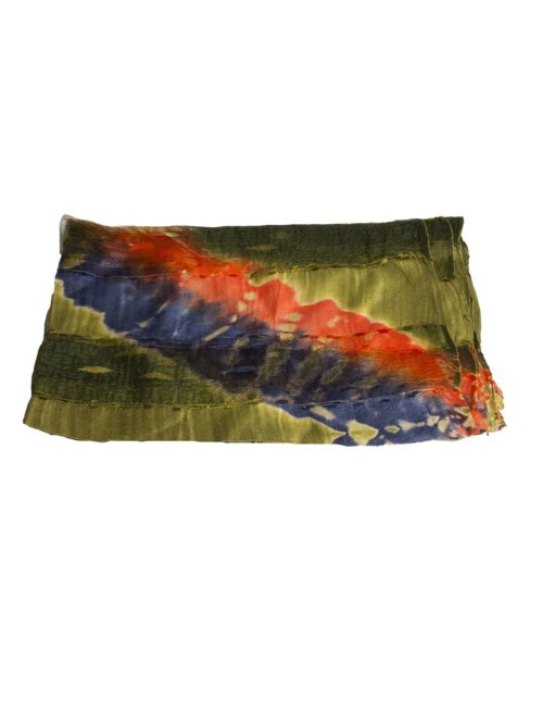 VRN009 Scarf Green Manicay Katie Kerr Women's Accessories Women's Clothing