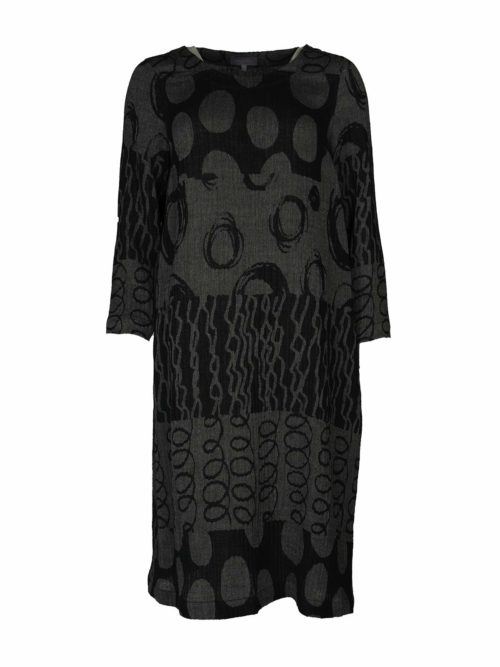 Abstract Jacquard Dress Sahara Katie Kerr Women's Clothing