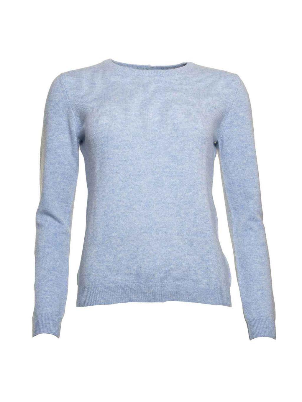 Rolo Round Jumper Brodie fine cashmere Women's clothing Women's knitwear