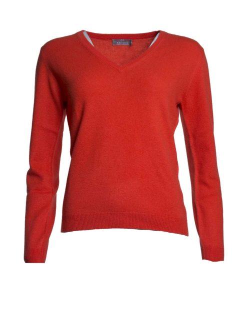 Brodie V Jumper Brodie fine cashmere Katie Kerr Women's Clothing