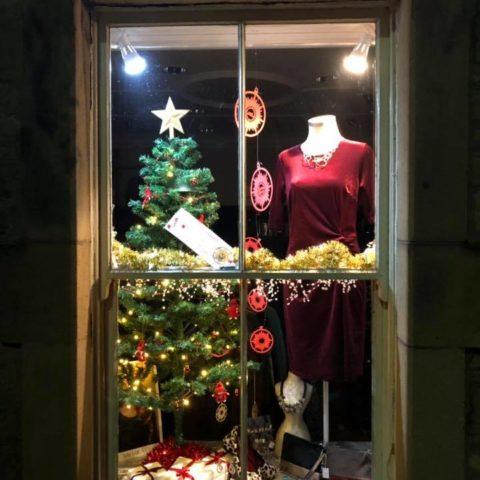 Katie Kerr Christmas Window 2018