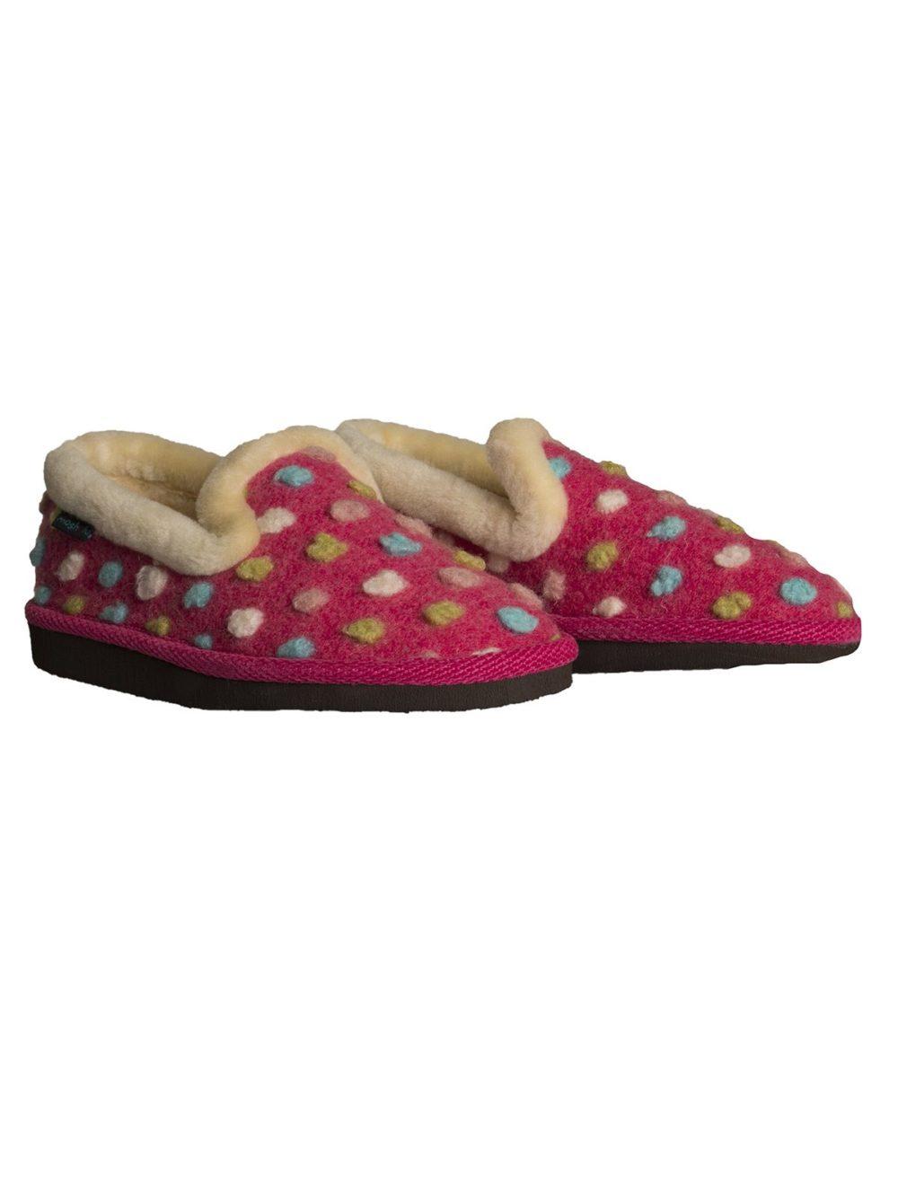 Peanut Brittle Slipper Moshulu Katie Kerr Women's Clothing Women's Slippers