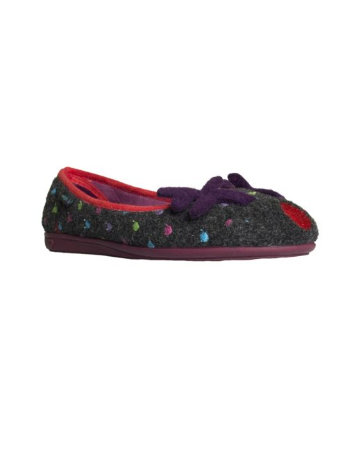 Dancer Shadow Slipper Moshulu Women's Clothing Women's Slippers