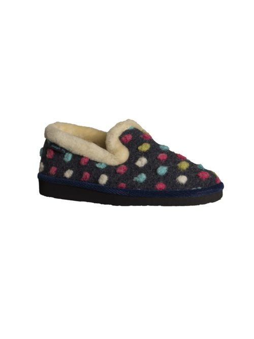 Peanut Brittle Slipper Moshulu Katie Kerr Women's Clothing Women's Slippers