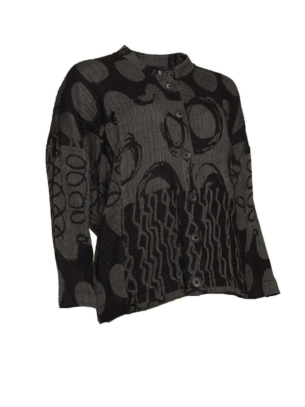 Abstract Jacquard Jacket Sahara Women's Clothing Women's Jackets