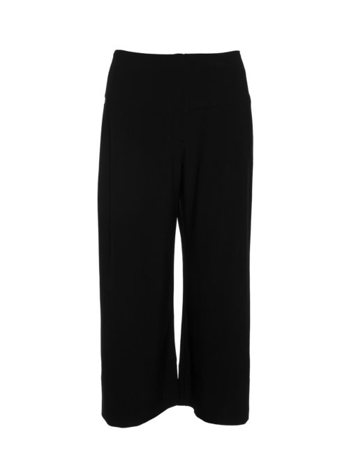 Crop Basque Wide Leg Pants Habits Clothing Katie Kerr Women's Clothing