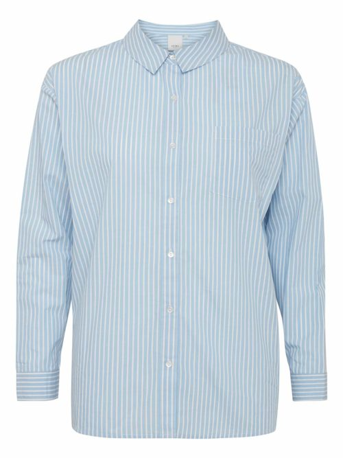 Tesse Stripe Shirt ICHI Katie Kerr Women's Clothing
