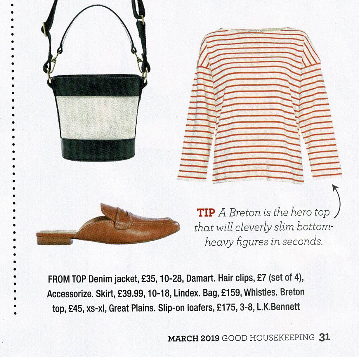 Great Plains Breton Top in Good Housekeeping