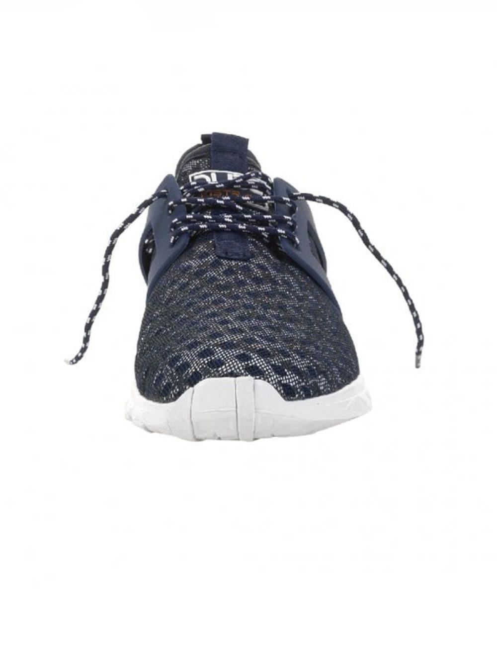 Mistral Navy Melange Airflow Hey Dude Shoes Katie Kerr Women's Clothing