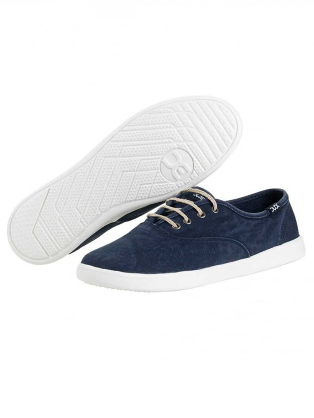 Jenny Navy Canvas Hey Dude Shoes Katie Kerr Women's Clothing