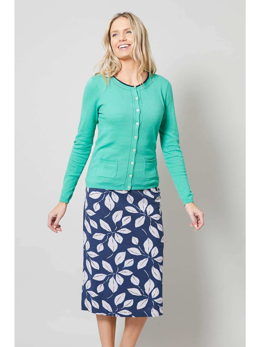 Midi Skirt Leaf Lily and Me Katie Kerr Women's Clothing