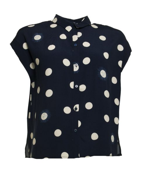 Sunny Dots Print Top Nice Things Katie Kerr Women's Clothing