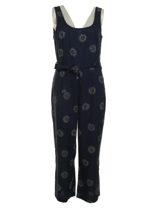 Sun Faces Print Jumpsuit Nice Things Katie Kerr Women's Clothing