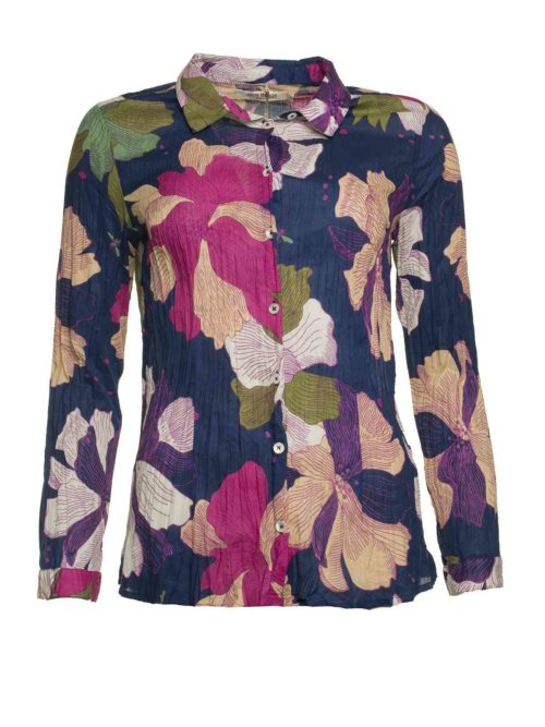 Big Nature Print Basic Shirt Nice Things Katie Kerr Women's Clothing
