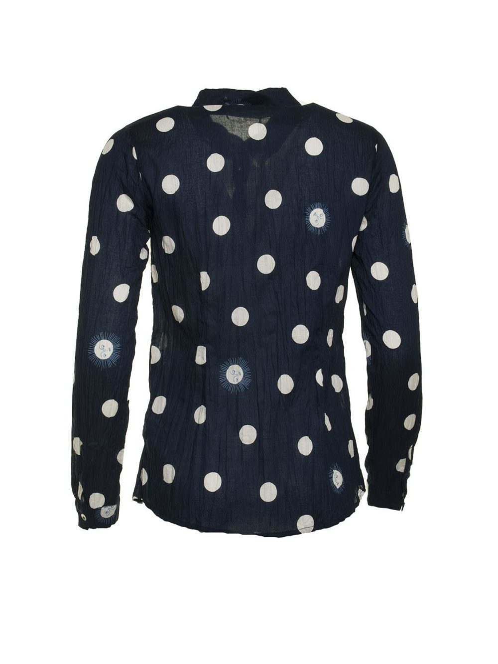 Sunny Dots Print Basic Shirt Nice Things Katie Kerr Women's Clothing