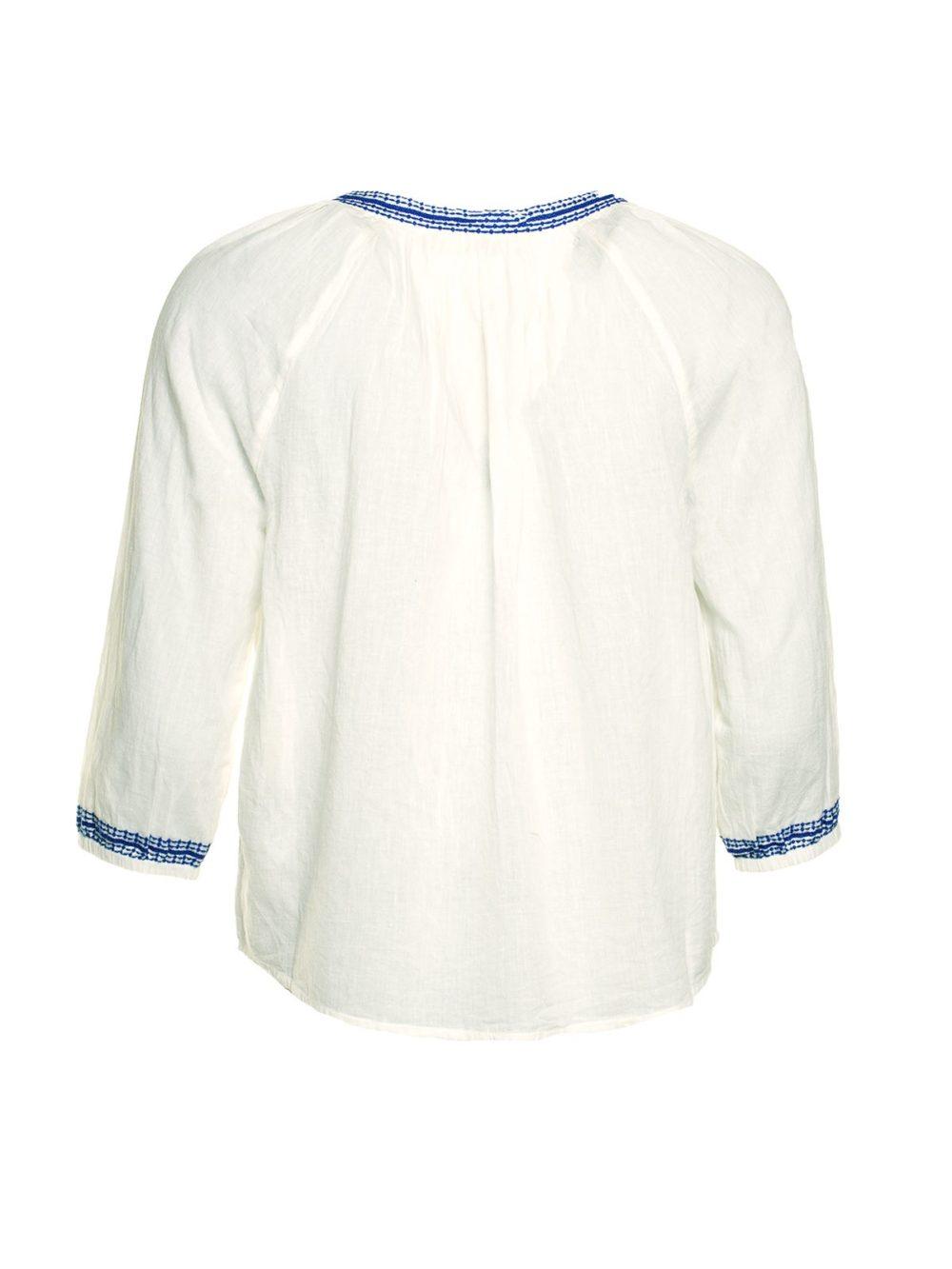 Embrodery Details Top Nice Things Katie Kerr Women's Clothing