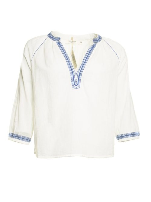 Embrodery Details Top Nice Things Katie Kerr Women's Clothing