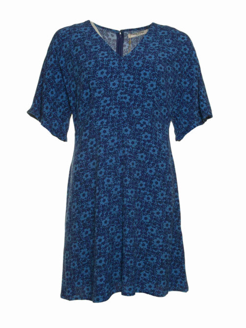 Small Garden Print Dress Nice Things Katie Kerr Women's Clothing
