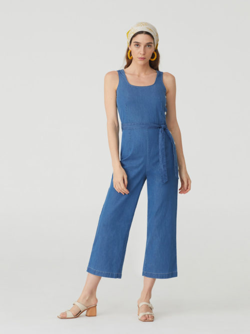 Nice Things Denim Jumpsuit