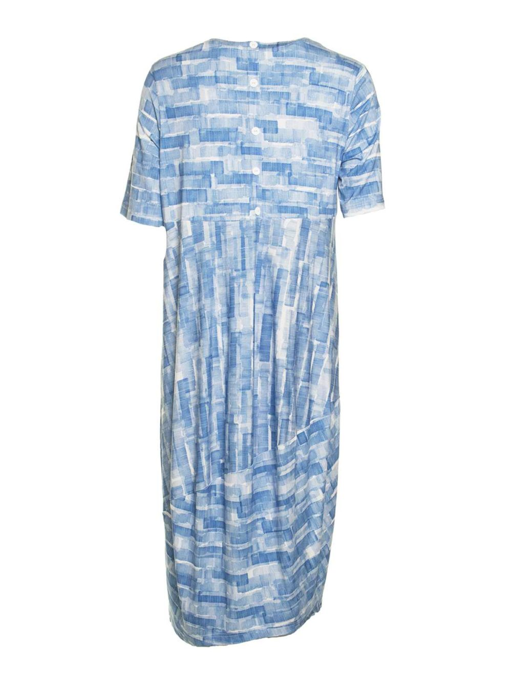 Scribble Mono Print Dress Sahara Katie Kerr Women's Clothing