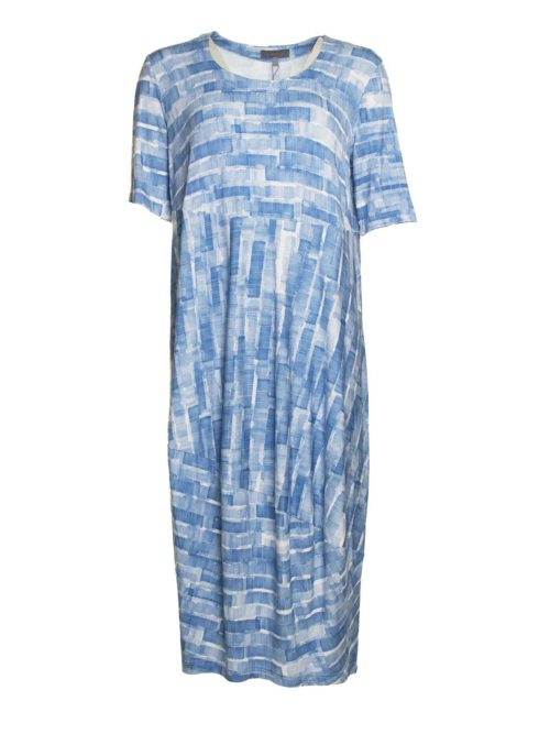 a709fdd08 Scribble Mono Print Dress Sahara Katie Kerr Women s Clothing
