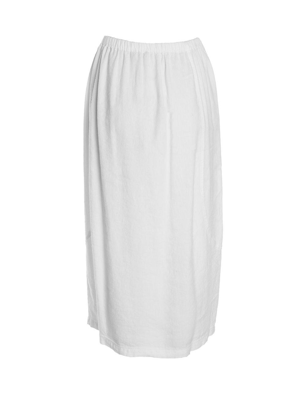 Textured Linen Bubble Skirt Sahara Katie Kerr Women's Clothing