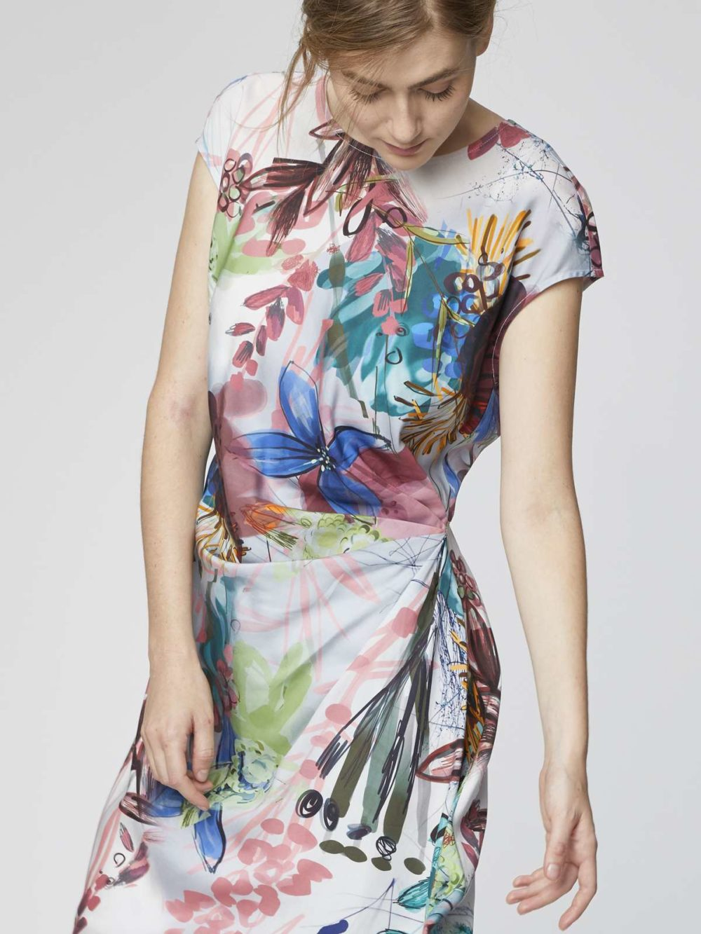 Solar Flower Dress Thought Clothing Katie Kerr Women's Clothing