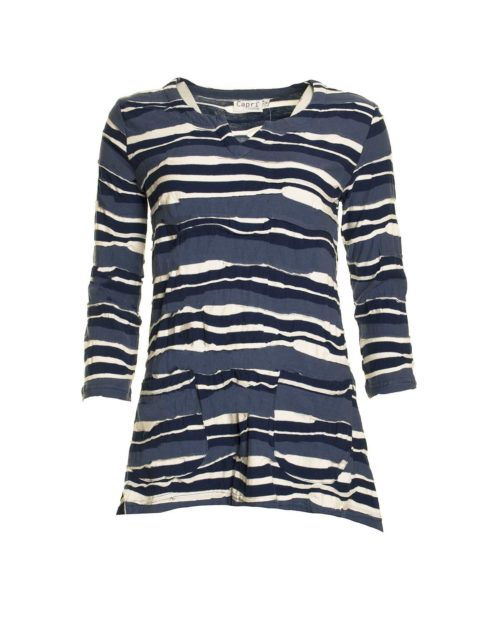 Top RPL-8102 Capri Katie Kerr Women's Clothing