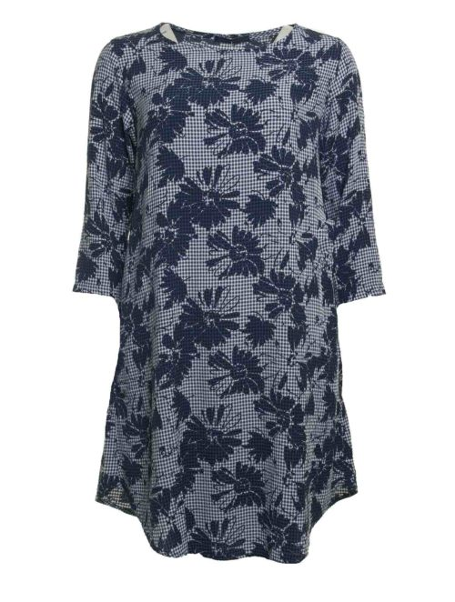 6071714 Floral Sleeve Dress Cut Loose Katie Kerr Women's Clothing
