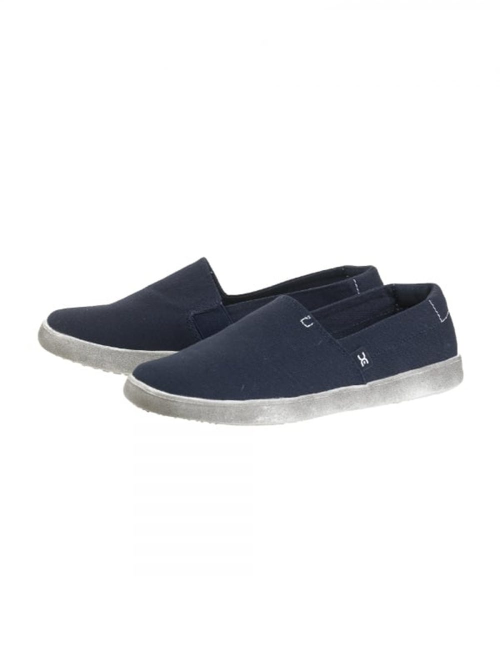 Carly Navy Canvas Hey Dude Shoes Katie Kerr Women's Clothing