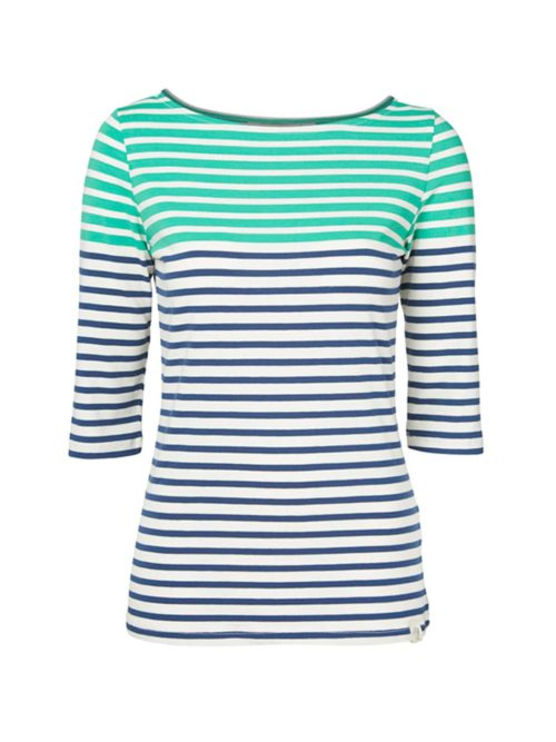 Monica Top Engineered Stripe Lily and Me Katie Kerr Women's Clothing