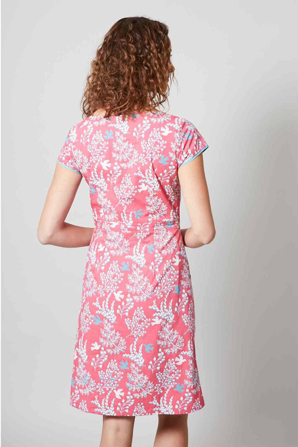 Victoria Dress Doves Lily and Me Katie Kerr Women's Clothing