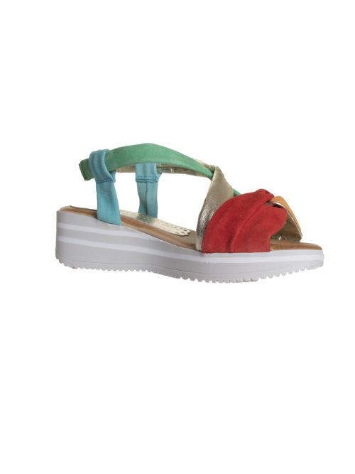 Lujan Gris Sandal Marila Shoes Katie Kerr Women's Shoes